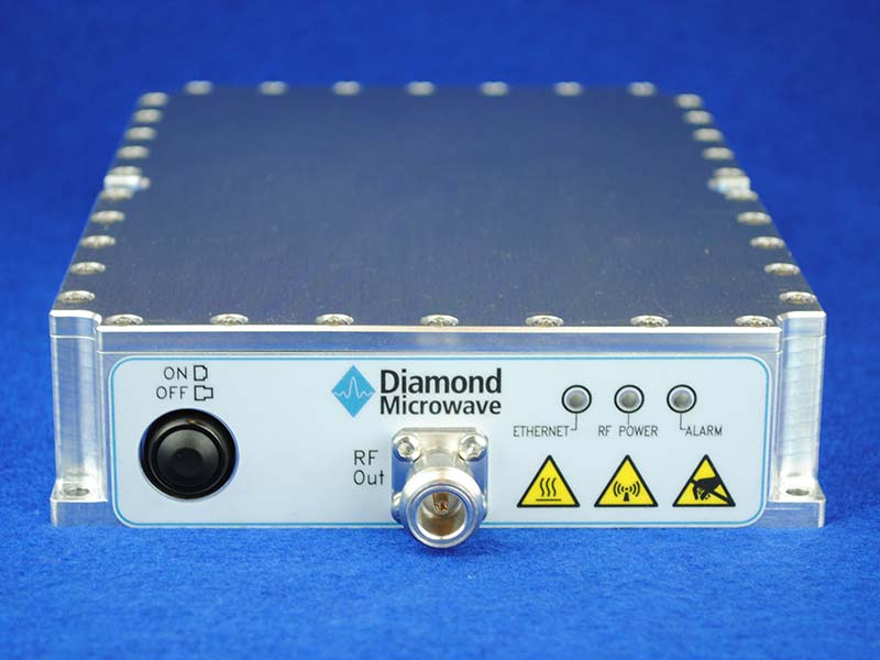 Diamond Microwave 400W X-Band GaN SSPA